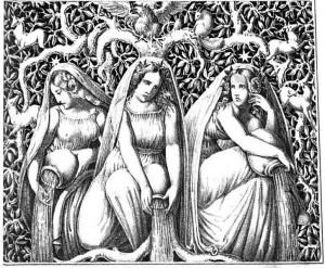 Die Nornen und der Weltenbaum