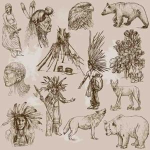 Krafttiere spielten in der indianischen Kultur eine große Rolle